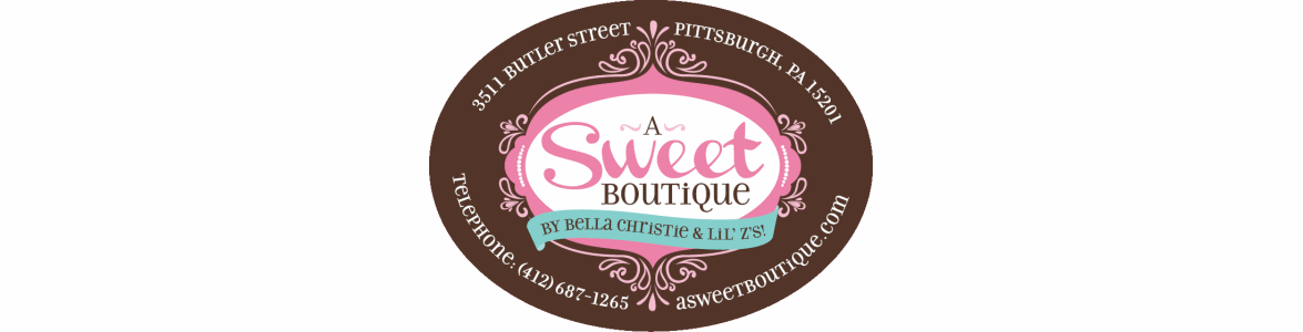 a sweet boutique banner